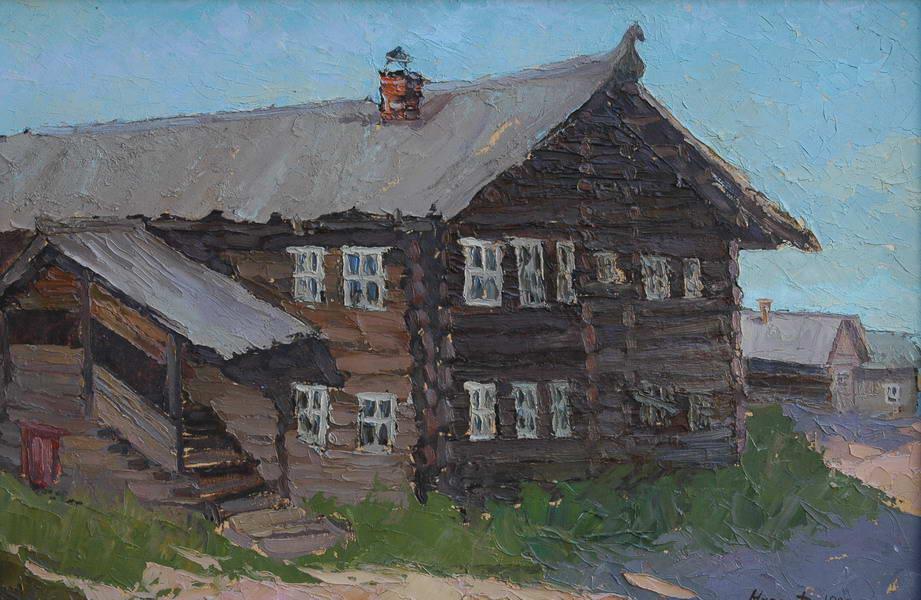 Картина 0306 Северный дом (1998г.)